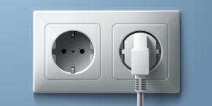 Plug 300x150 - الحفاظ على أجهزتك الكهربائية عند انقطاع الكهرباء