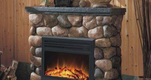 cottage faux electric fireplace heater 310x165 - المدفأه الكهربائية ( الدفاية)